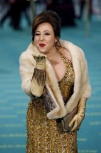 Los vestidos de los Goya 2009