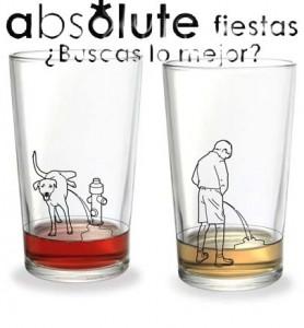Te echan cosas raras en las copas
